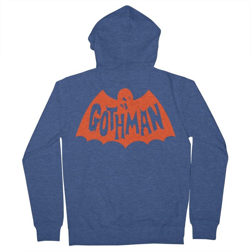 Gothman Classic Orange Men's Zip-Up Hoody by Gothman Flavored Clothing