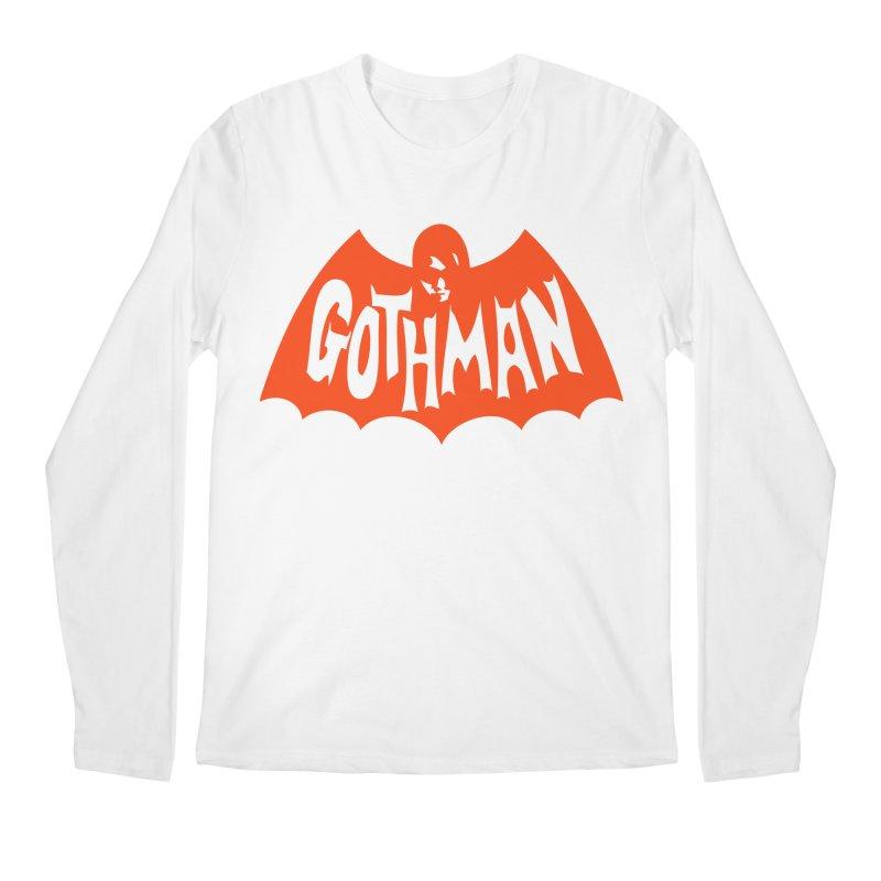 Gothman Classic Orange Men's Regular Longsleeve T-Shirt by Gothman Flavored Clothing