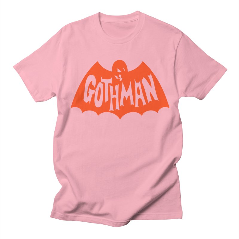Gothman Classic Orange Men's T-Shirt by Gothman Flavored Clothing