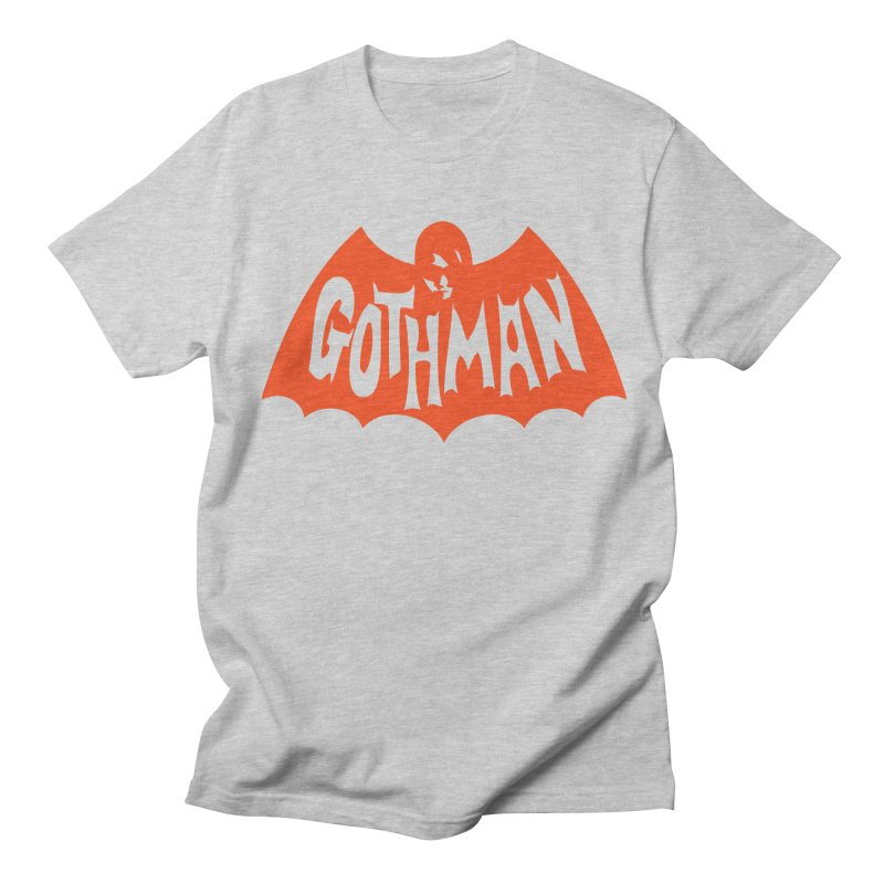 Gothman Classic Orange Men's T-Shirt by Gothman Flavored Clothing