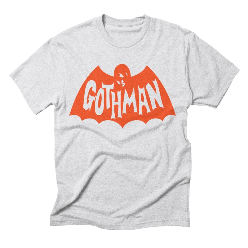 Gothman Classic Orange Men's Triblend T-Shirt by Gothman Flavored Clothing