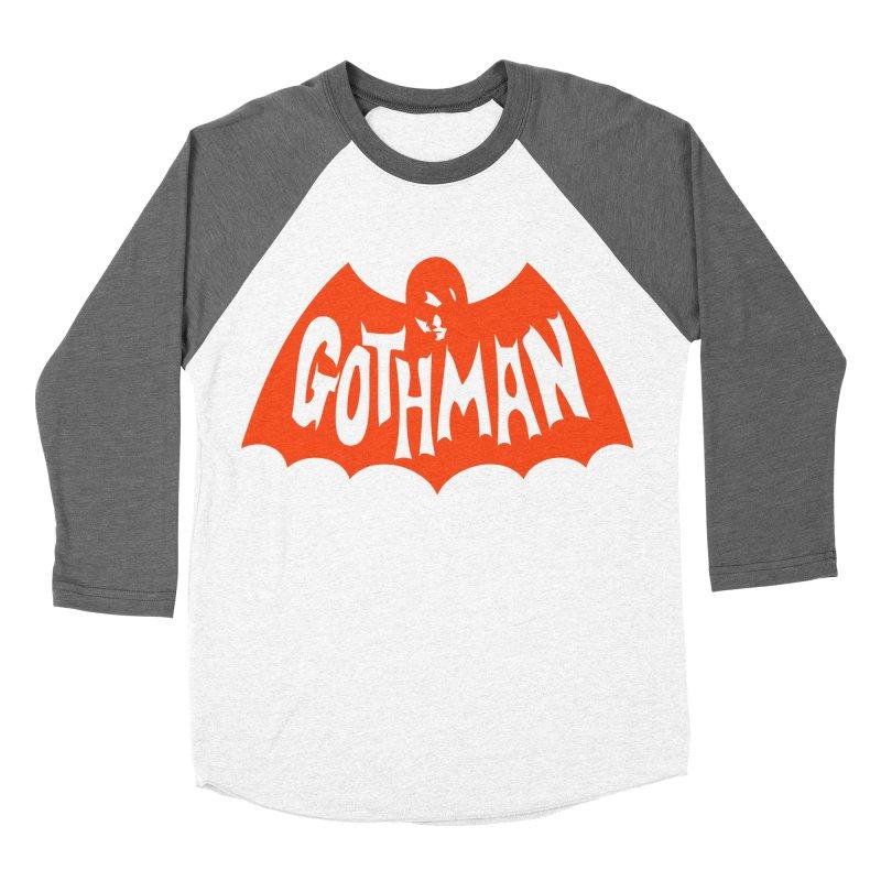 Gothman Classic Orange Men's Baseball Triblend T-Shirt by Gothman Flavored Clothing