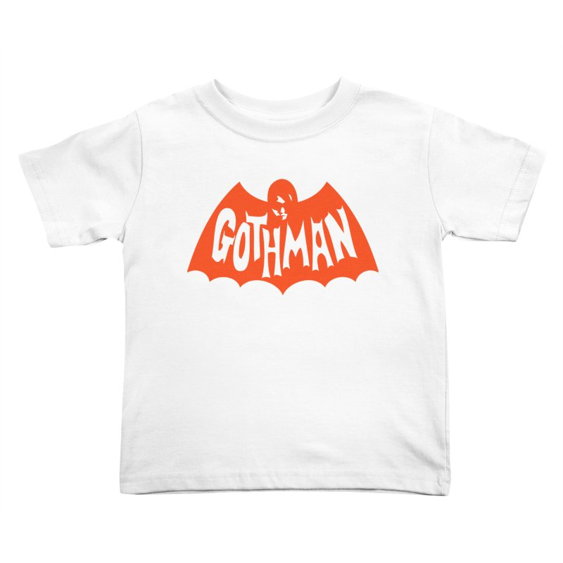 Gothman Classic Orange Kids Toddler T-Shirt by Gothman Flavored Clothing