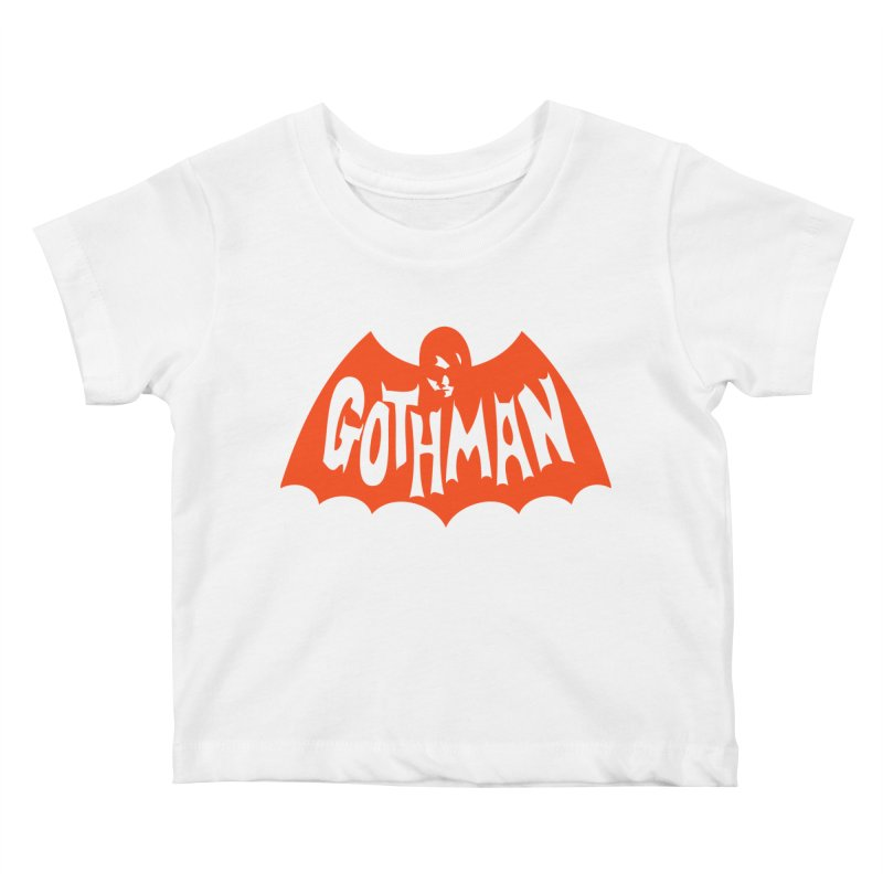 Gothman Classic Orange Kids Baby T-Shirt by Gothman Flavored Clothing
