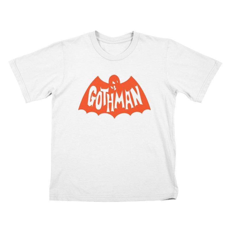 Gothman Classic Orange Kids T-Shirt by Gothman Flavored Clothing