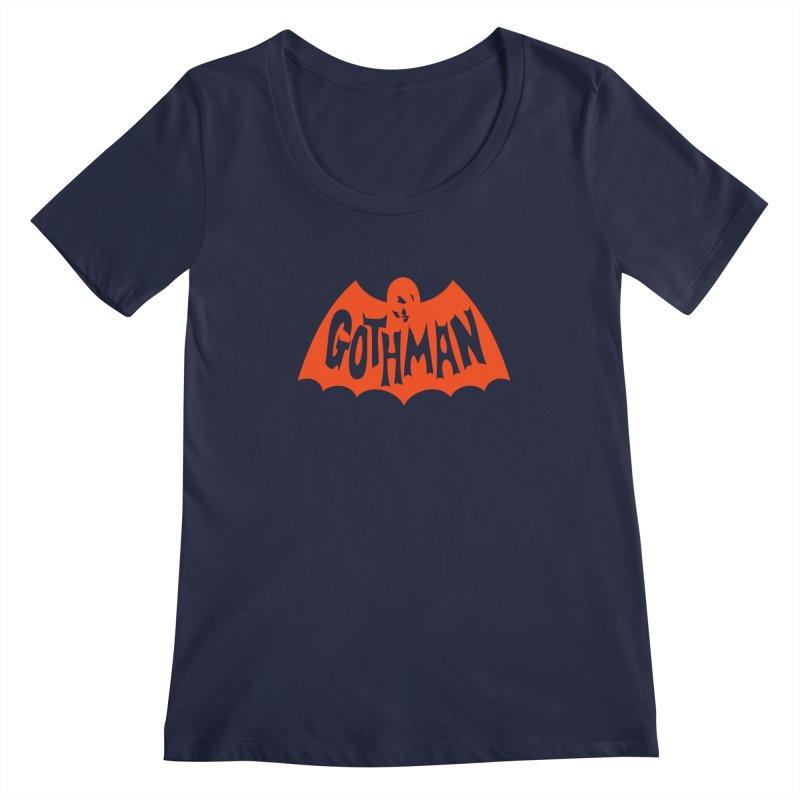 Gothman Classic Orange Women's Scoopneck by Gothman Flavored Clothing