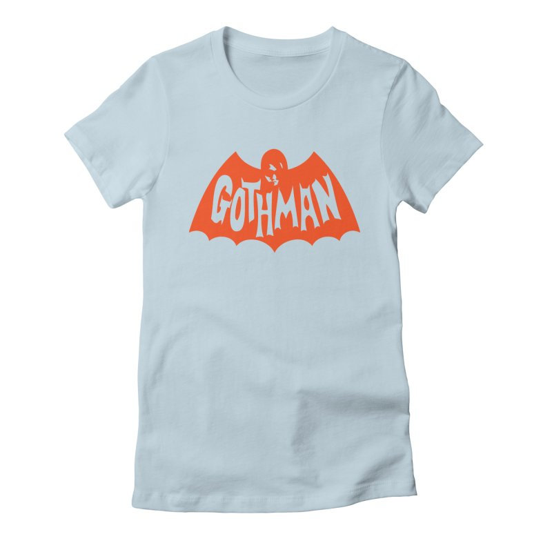 Gothman Classic Orange Women's Fitted T-Shirt by Gothman Flavored Clothing