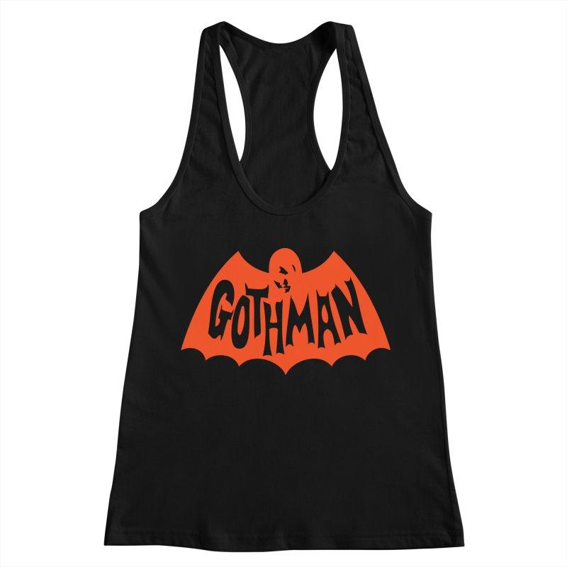 Gothman Classic Orange Women's Tank by Gothman Flavored Clothing