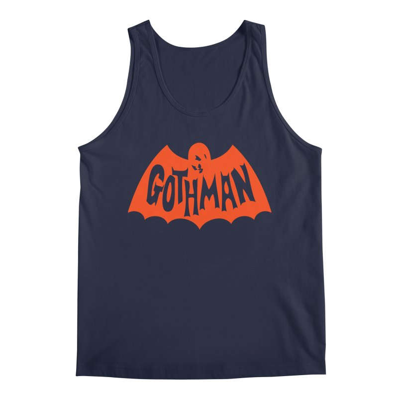 Gothman Classic Orange Men's Regular Tank by Gothman Flavored Clothing