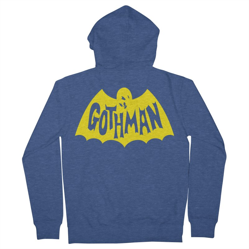 Gothman Classic Gold Men's Zip-Up Hoody by Gothman Flavored Clothing