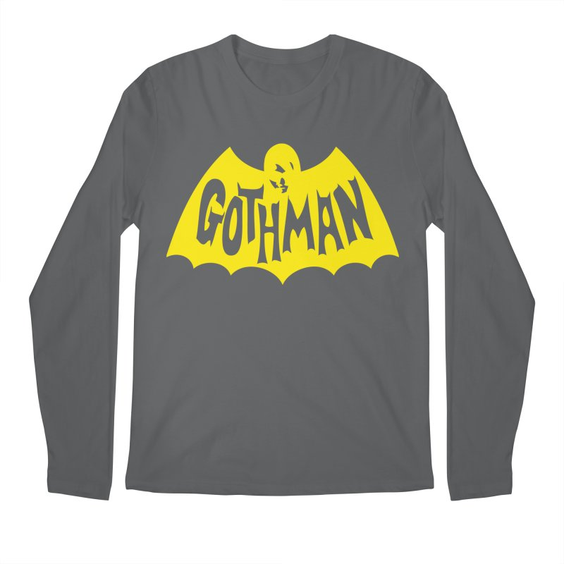 Gothman Classic Gold Men's Longsleeve T-Shirt by Gothman Flavored Clothing