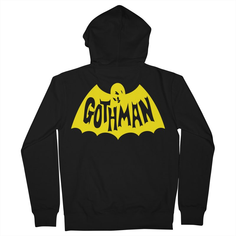 Gothman Classic Gold Women's Zip-Up Hoody by Gothman Flavored Clothing