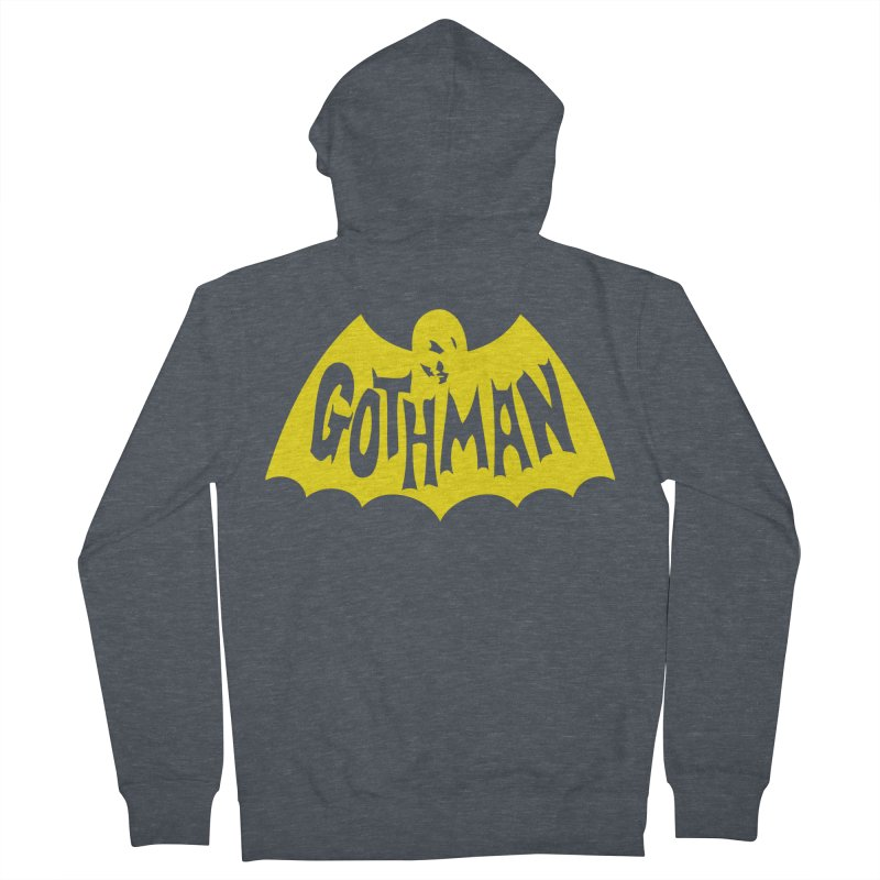 Gothman Classic Gold Men's French Terry Zip-Up Hoody by Gothman Flavored Clothing
