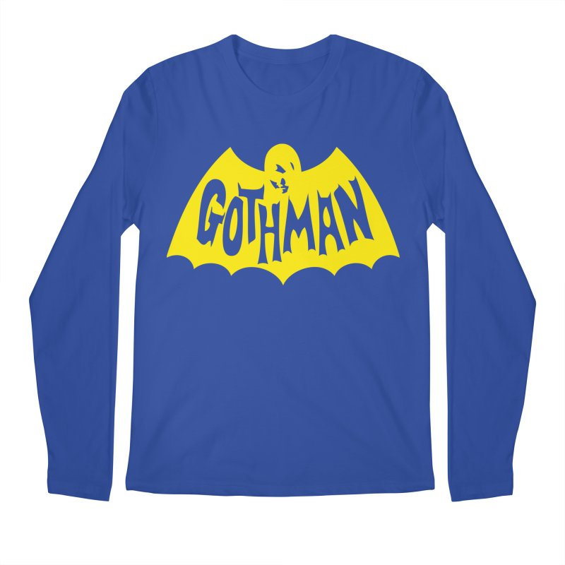 Gothman Classic Gold Men's Regular Longsleeve T-Shirt by Gothman Flavored Clothing