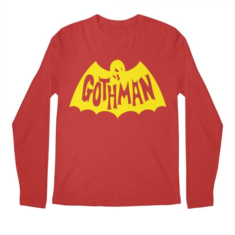 Gothman Classic Gold Men's Longsleeve T-Shirt by Gothman Flavored Clothing