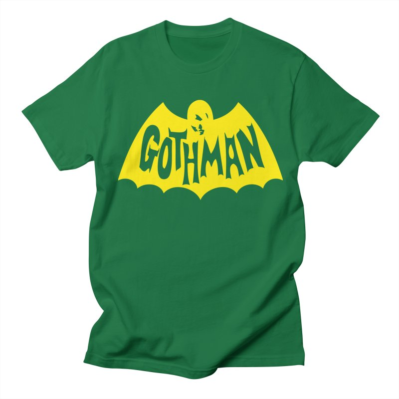 Gothman Classic Gold Men's Regular T-Shirt by Gothman Flavored Clothing