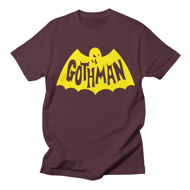 Gothman Classic Gold Men's T-Shirt by Gothman Flavored Clothing