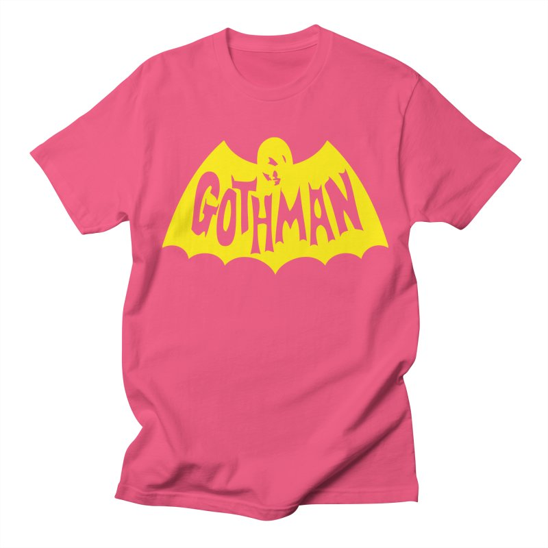 Gothman Classic Gold Women's Regular Unisex T-Shirt by Gothman Flavored Clothing