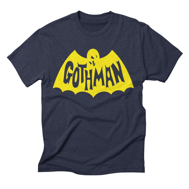 Gothman Classic Gold Men's Triblend T-Shirt by Gothman Flavored Clothing