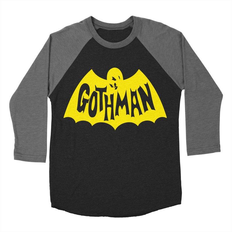 Gothman Classic Gold Men's Baseball Triblend T-Shirt by Gothman Flavored Clothing