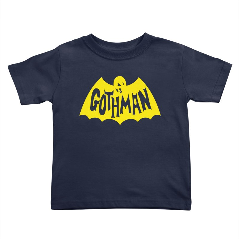 Gothman Classic Gold Kids Toddler T-Shirt by Gothman Flavored Clothing