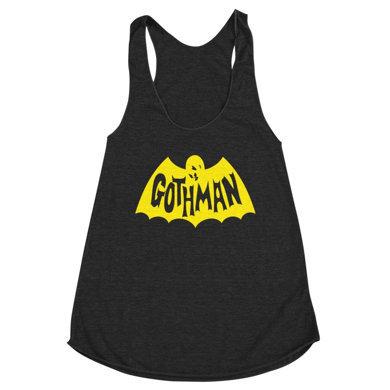 Gothman Classic Gold Women's Tank by Gothman Flavored Clothing