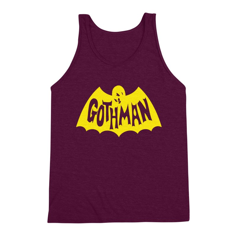 Gothman Classic Gold Men's Triblend Tank by Gothman Flavored Clothing