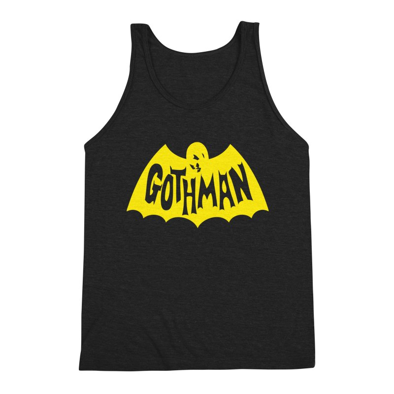Gothman Classic Gold Men's Tank by Gothman Flavored Clothing