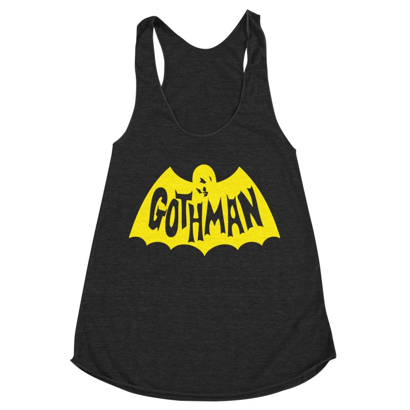 Gothman Classic Gold Women's Racerback Triblend Tank by Gothman Flavored Clothing
