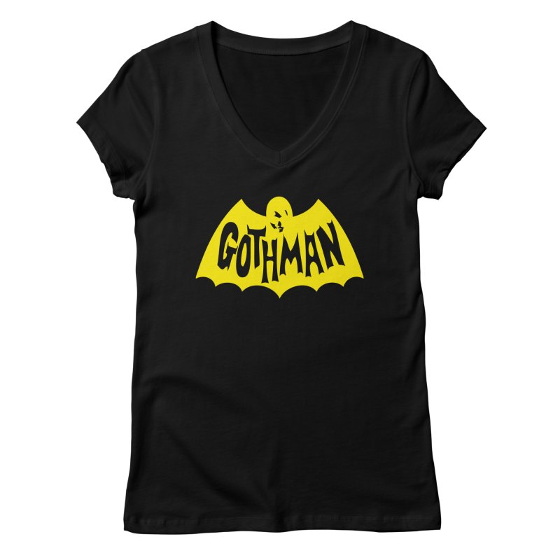 Gothman Classic Gold Women's V-Neck by Gothman Flavored Clothing
