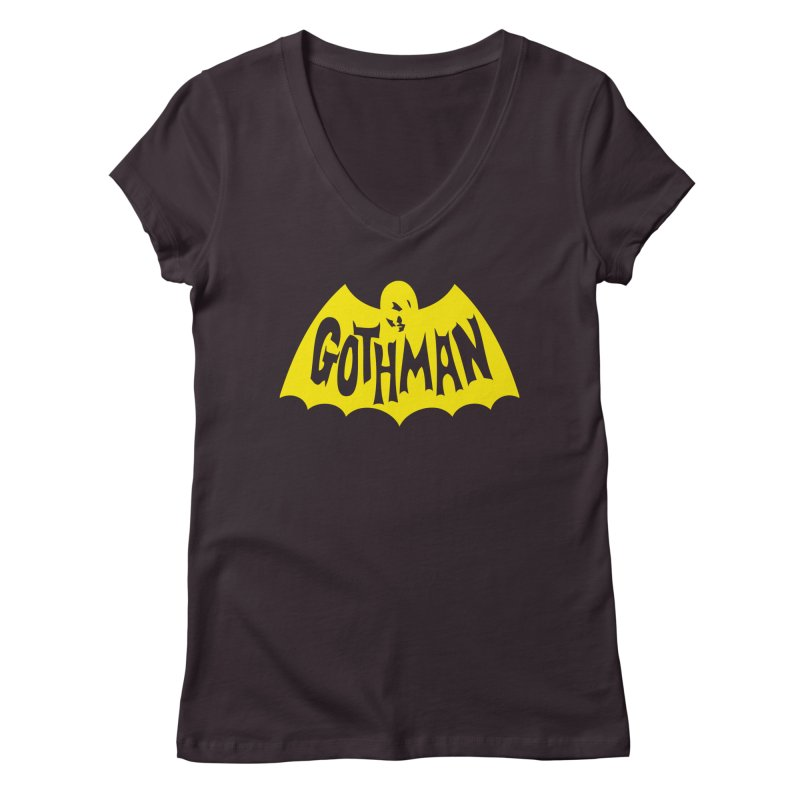 Gothman Classic Gold Women's Regular V-Neck by Gothman Flavored Clothing