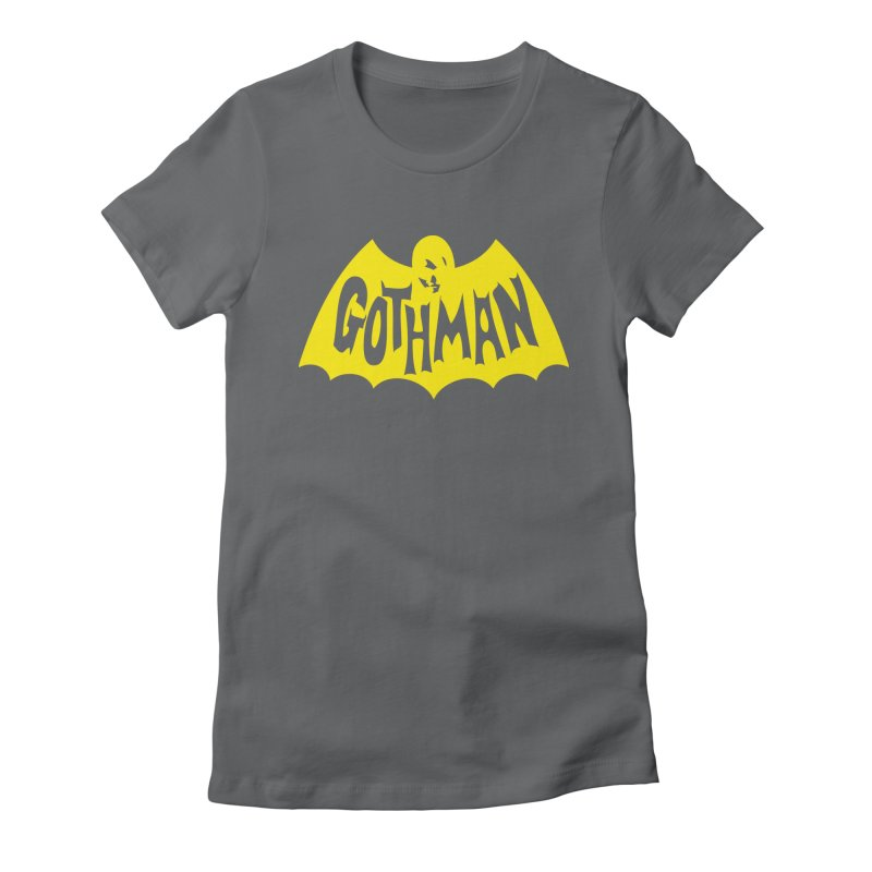 Gothman Classic Gold Women's Fitted T-Shirt by Gothman Flavored Clothing