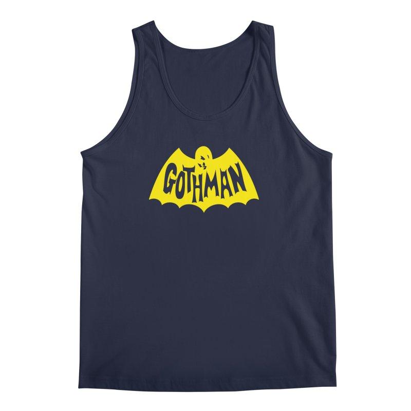 Gothman Classic Gold Men's Regular Tank by Gothman Flavored Clothing