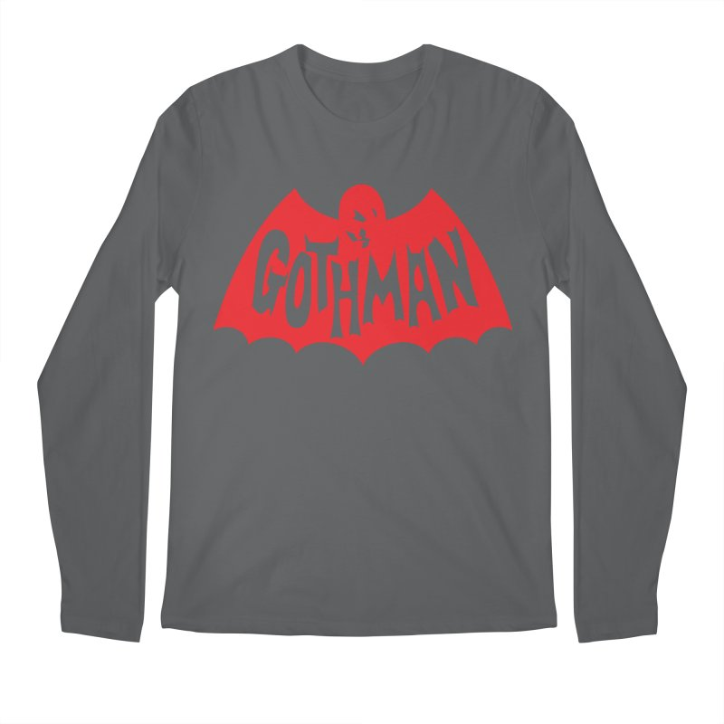 Gothman Classic Crimson Men's Longsleeve T-Shirt by Gothman Flavored Clothing