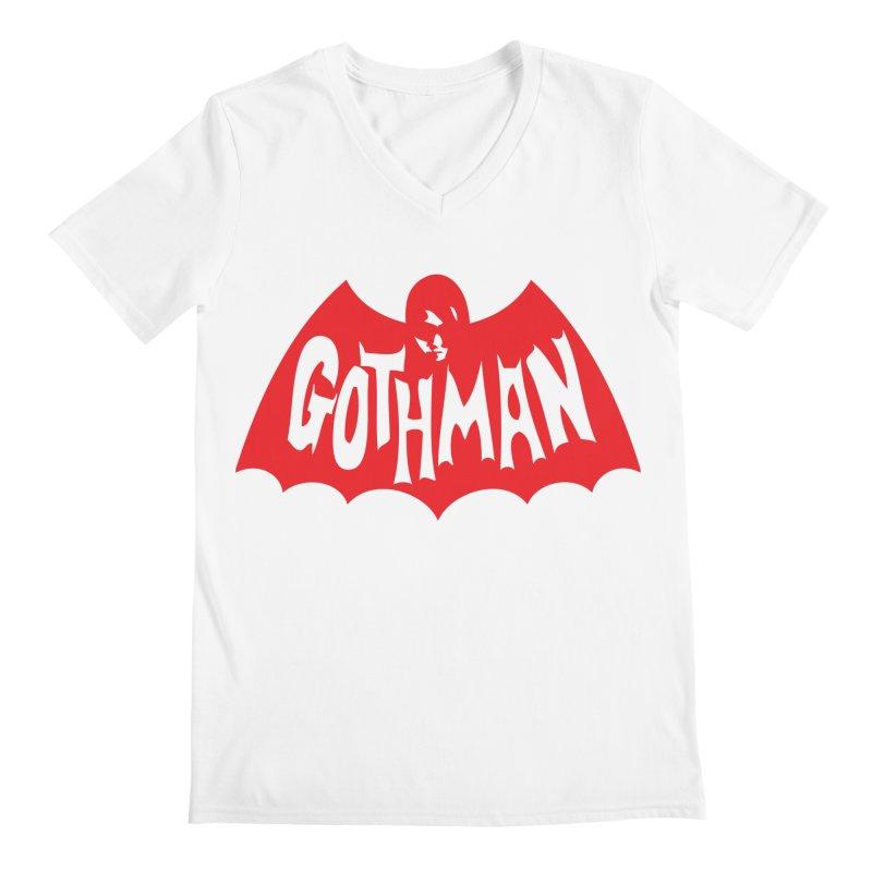 Gothman Classic Crimson Men's V-Neck by Gothman Flavored Clothing