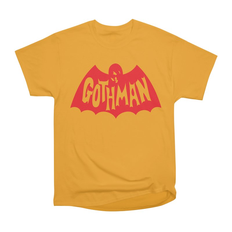 Gothman Classic Crimson Women's Heavyweight Unisex T-Shirt by Gothman Flavored Clothing