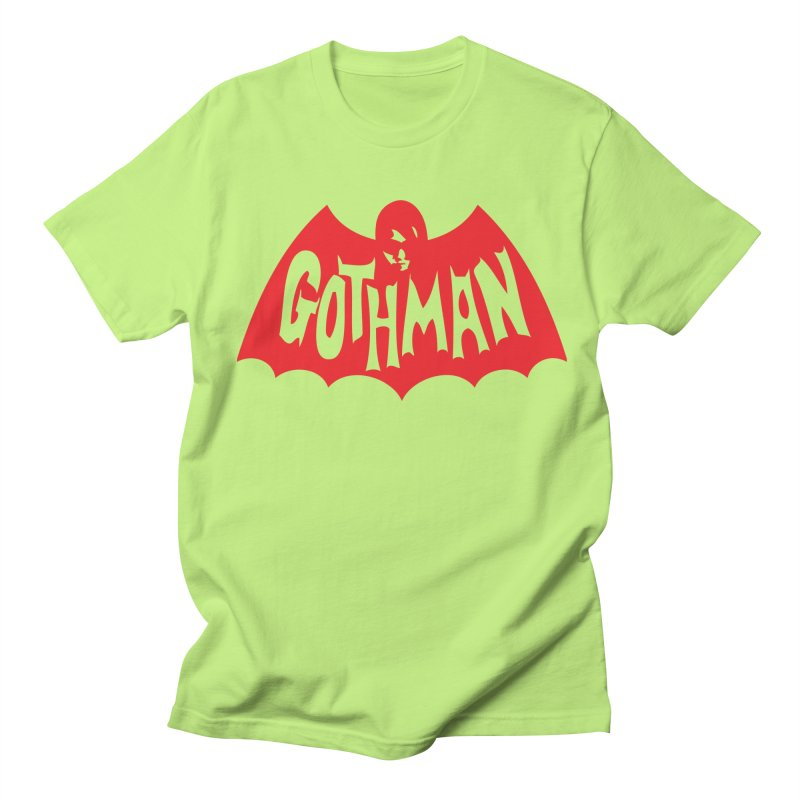 Gothman Classic Crimson Men's T-Shirt by Gothman Flavored Clothing
