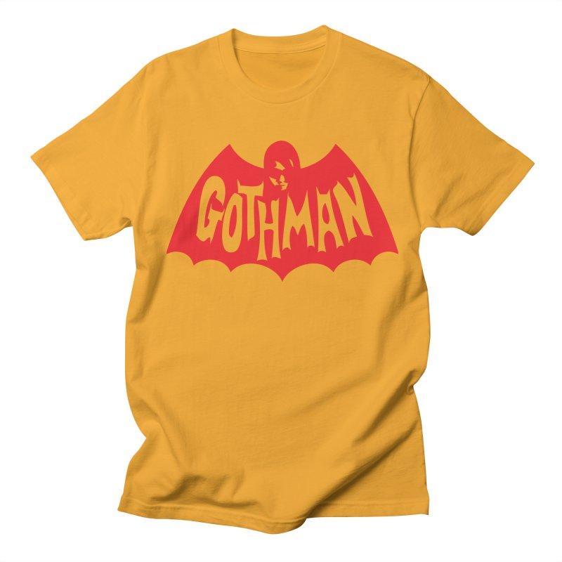 Gothman Classic Crimson Men's Regular T-Shirt by Gothman Flavored Clothing