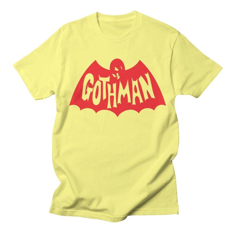 Gothman Classic Crimson Women's Regular Unisex T-Shirt by Gothman Flavored Clothing