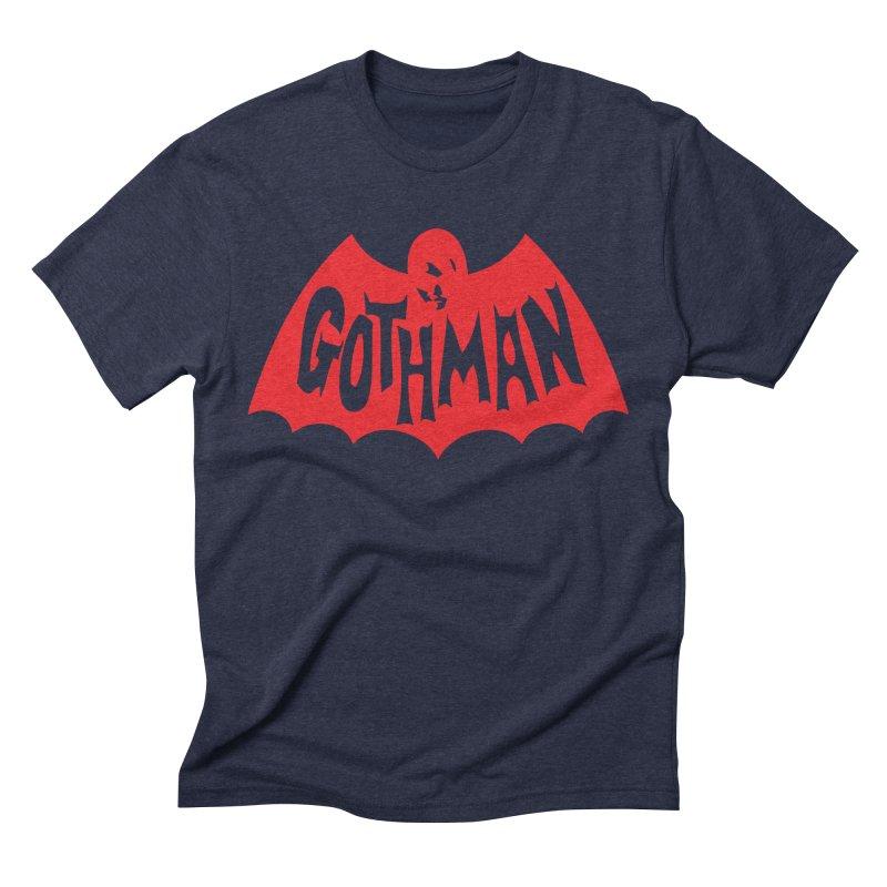 Gothman Classic Crimson Men's Triblend T-Shirt by Gothman Flavored Clothing