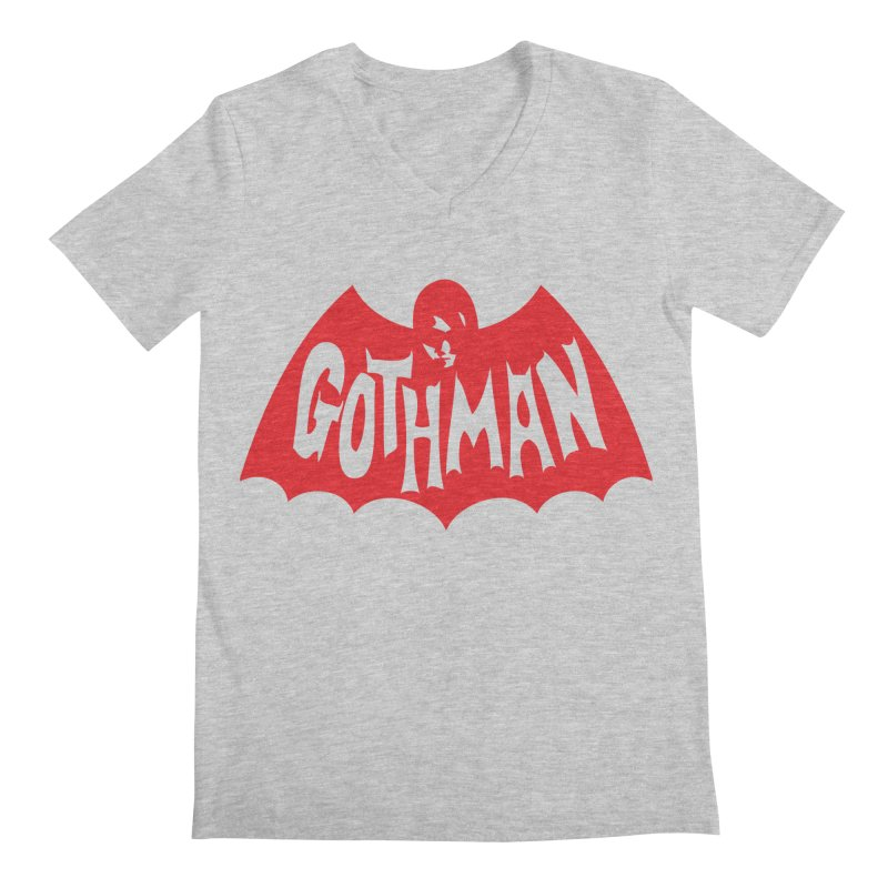 Gothman Classic Crimson Men's Regular V-Neck by Gothman Flavored Clothing