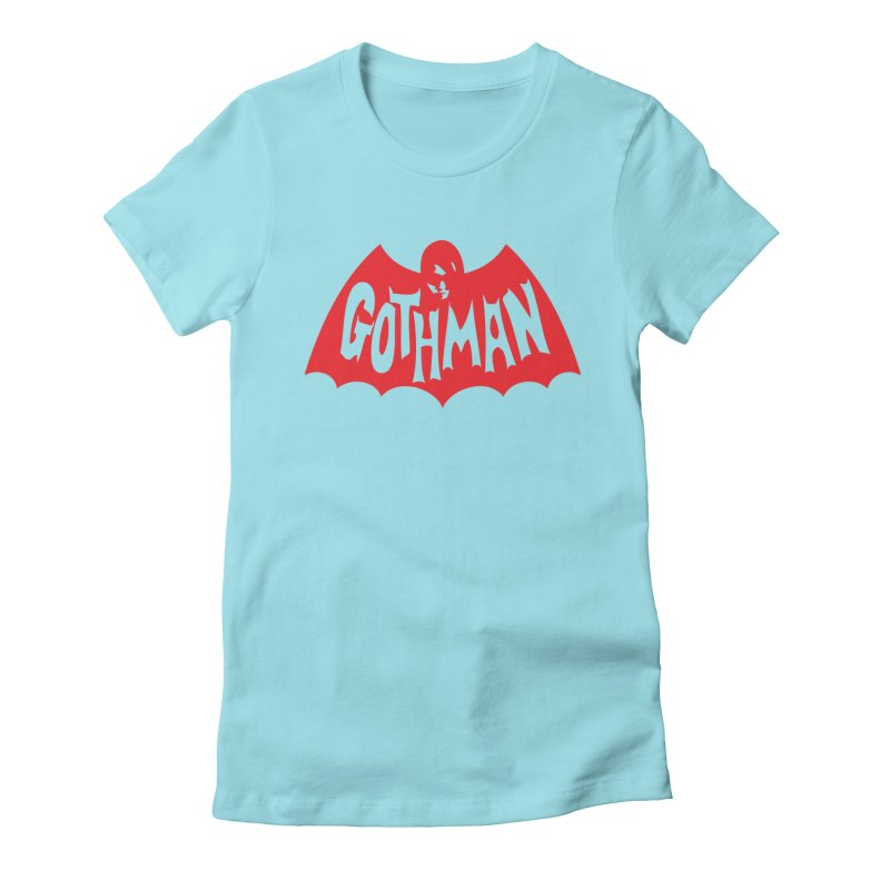 Gothman Classic Crimson Women's T-Shirt by Gothman Flavored Clothing