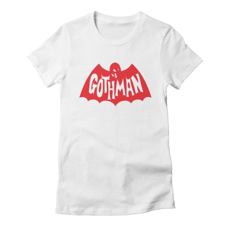 Gothman Classic Crimson Women's T-Shirt by Gothman Flavored Clothing