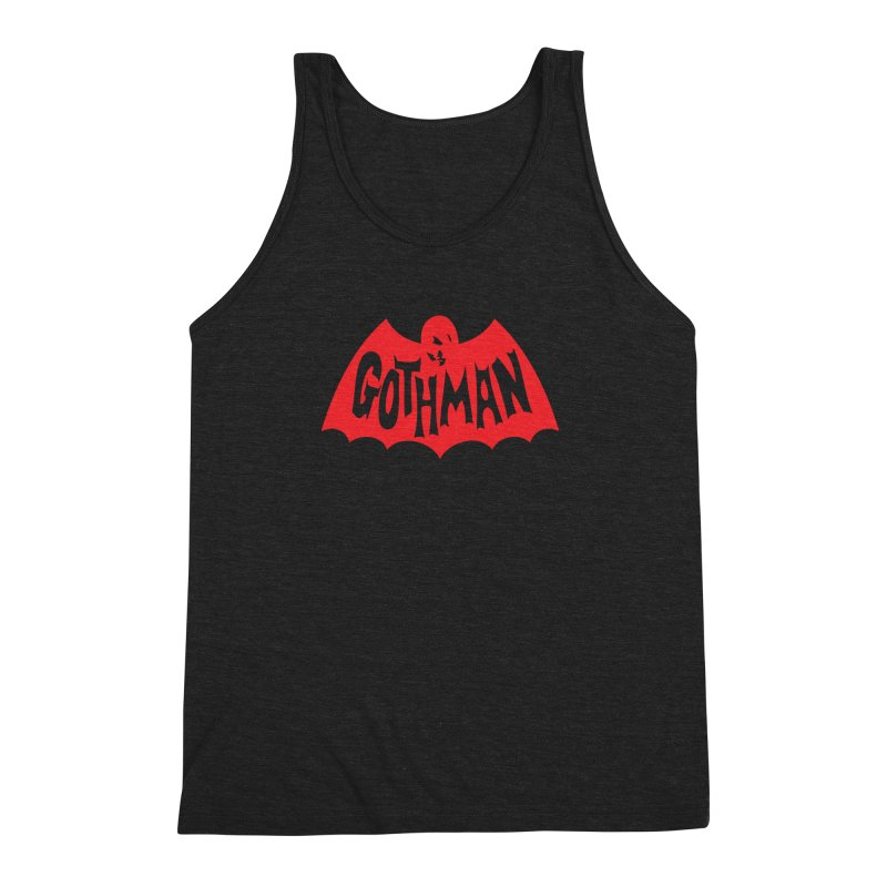 Gothman Classic Crimson Men's Triblend Tank by Gothman Flavored Clothing