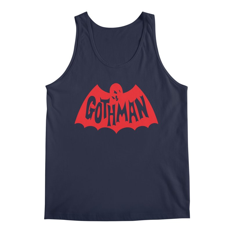 Gothman Classic Crimson Men's Regular Tank by Gothman Flavored Clothing