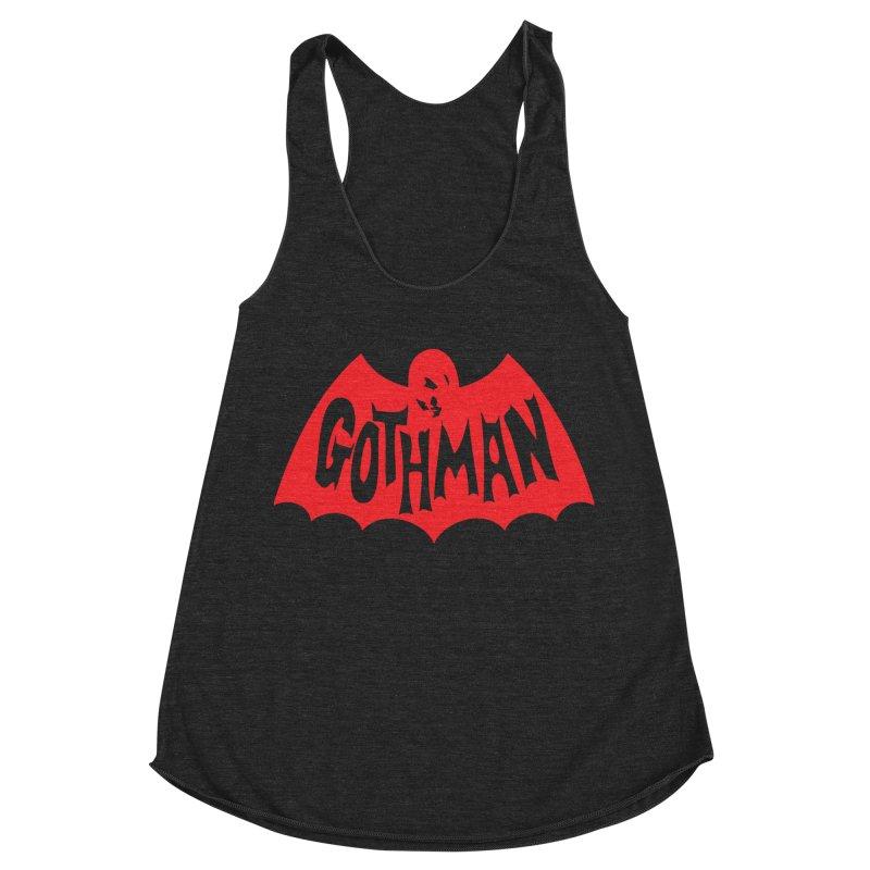 Gothman Classic Crimson Women's Racerback Triblend Tank by Gothman Flavored Clothing