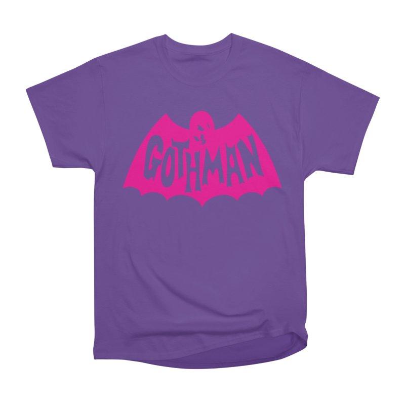 Gothman Classic Magenta Women's Heavyweight Unisex T-Shirt by Gothman Flavored Clothing
