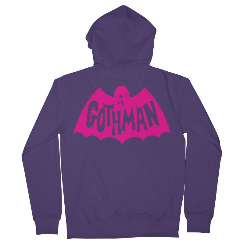 Gothman Classic Magenta Women's French Terry Zip-Up Hoody by Gothman Flavored Clothing