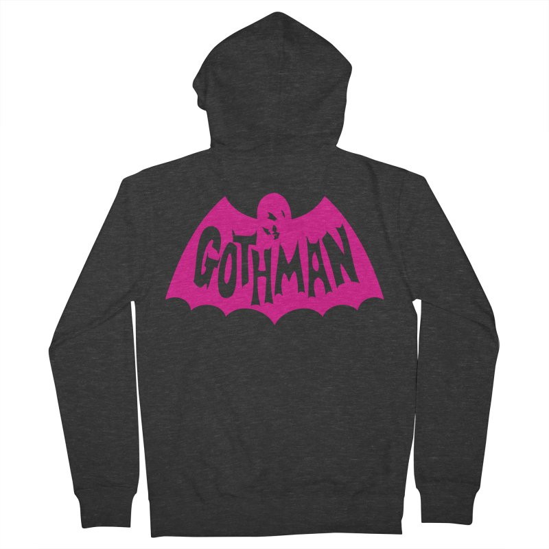 Gothman Classic Magenta Men's Zip-Up Hoody by Gothman Flavored Clothing