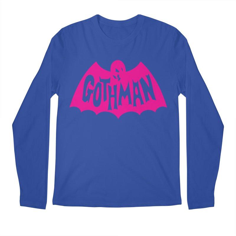 Gothman Classic Magenta Men's Regular Longsleeve T-Shirt by Gothman Flavored Clothing